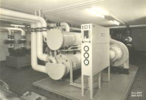 Einer der ersten Unitop® Flüssigkeitskühler