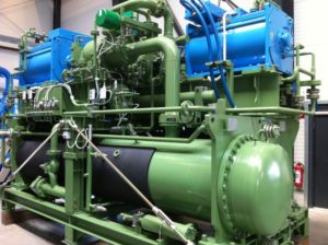 Twin Unitop 22S chiller for the nuclear power plant Taishan, China